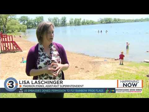 Madison Beaches Recovering From Last Year's Flooding