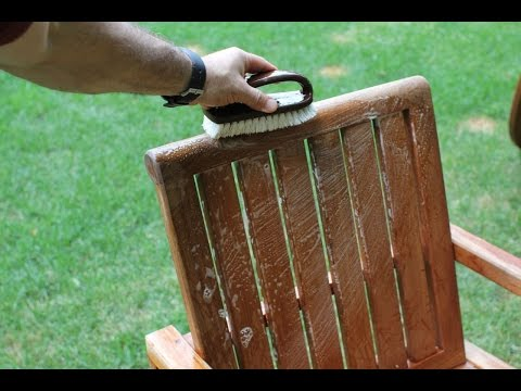 How To Clean Teak Furniture