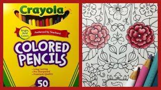 Цветные карандаши Crayola.Обзор, сравнение с Prismacolor, мое мнение.