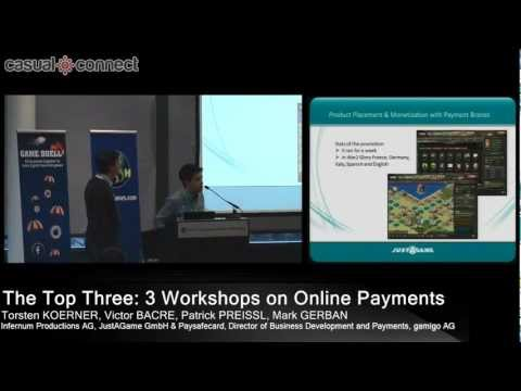 The Top Three: 3 Workshops on Online Payments