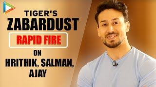 "Tiger Shroff: ""Seeing Hrithik Roshan's HUNGER Even Now, Is Extraordinary""