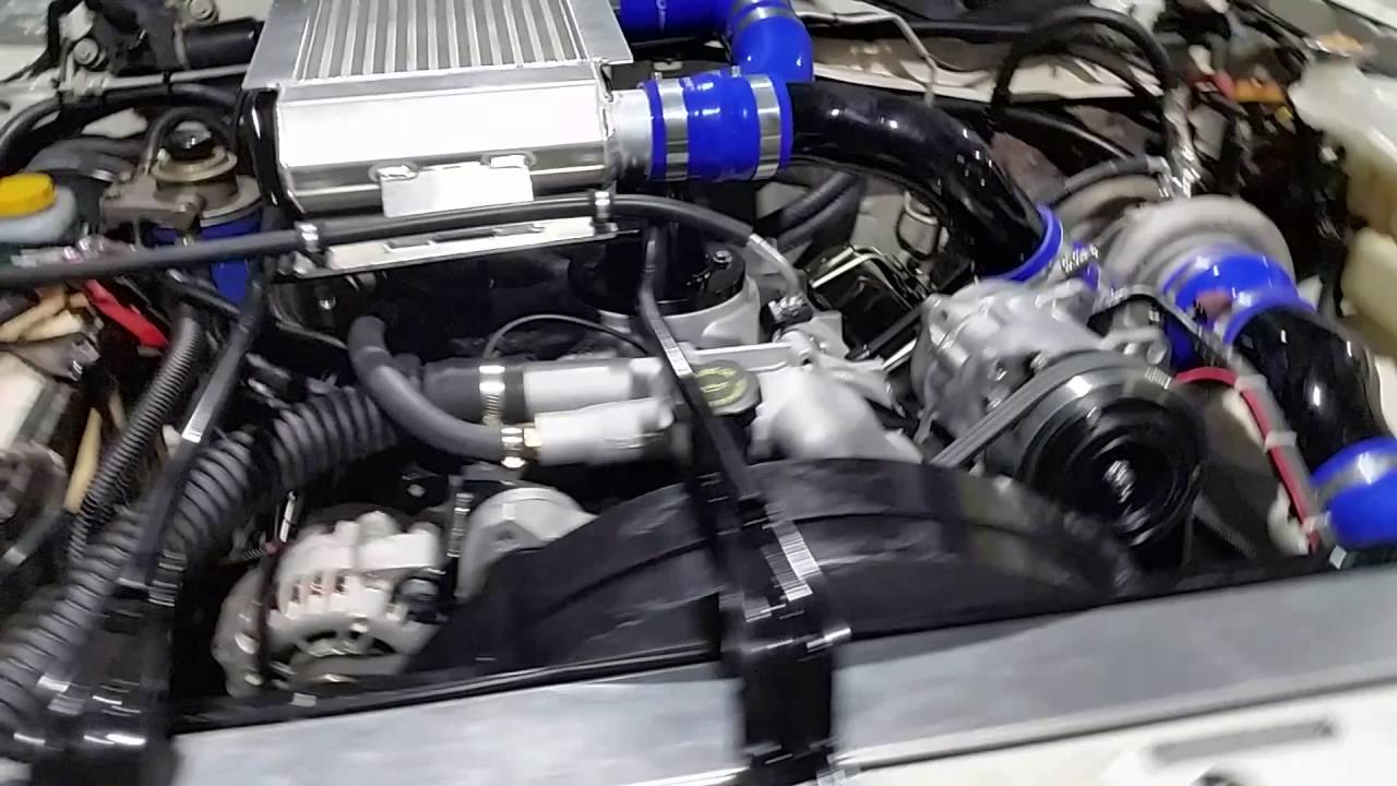 Nissan Patrol GU Chev V8 Diesel 6.5L Turbo Brintech ...