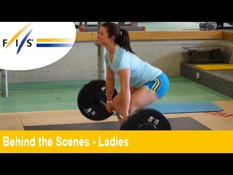 """Swiss Ladies Summer Training at """"The End of the World"""" - Behind the Scenes - Womens"""