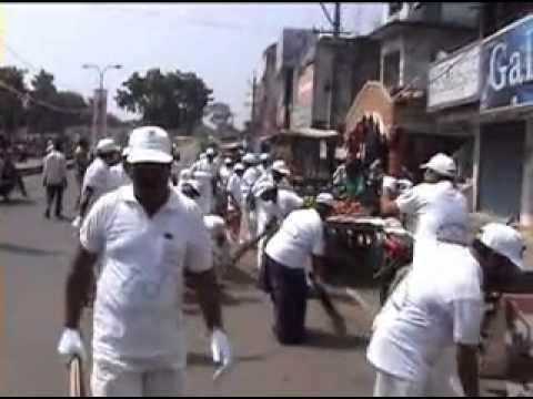 CMPF KOTHAGUDEM SWACHH BHARAT ABHIYAN BY PMK PRASAD