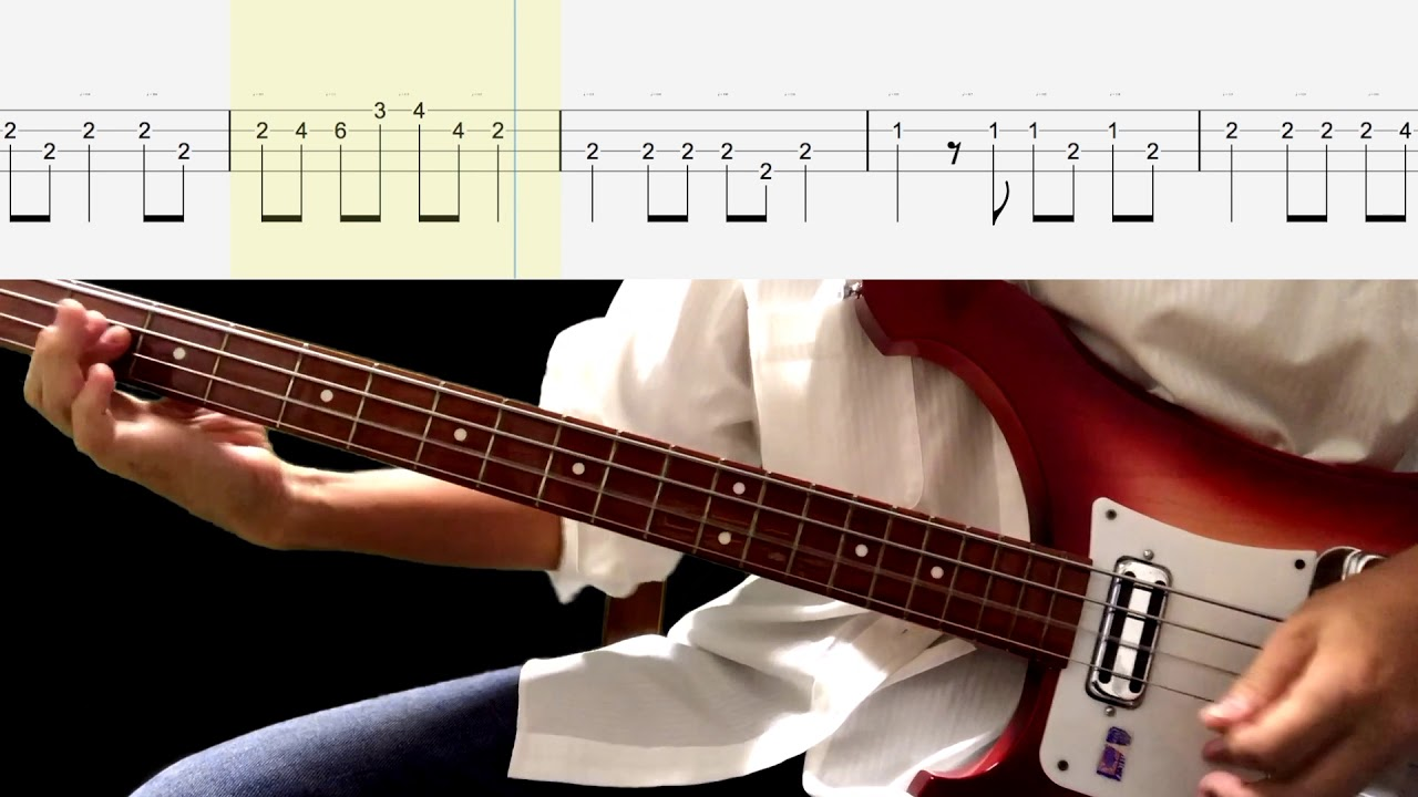 Lets have a party bass tabs