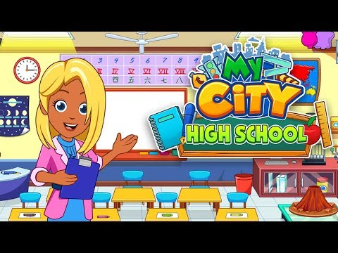 My City : High school - New Best App for Kids | Your school Your rules!