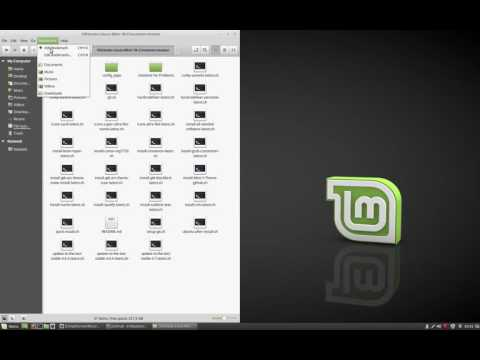 Linux Mint 18 Cinnamon complete customisation playlist