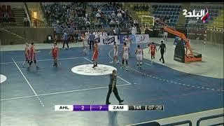 ملعب البلد - مباراة الأهلى و الزمالك الحاسمة فى دورى كرة السلة