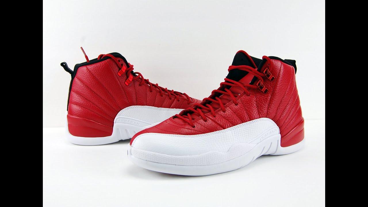 a6a529836fe5 Air Jordan 12 Gym Red Alternate Review + On Feet - YouTube