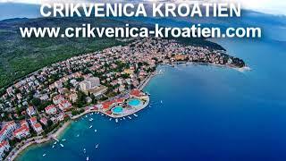 Selce Kroatien - Selce auf Kvarner Bucht in Kroatien