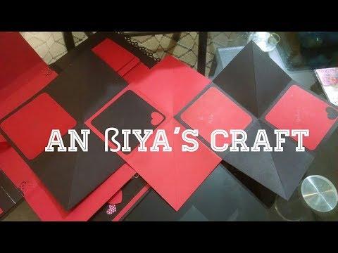 DIY Squash Card Tutorial Easily / Squash Card Tutorial HD By Alina Naz