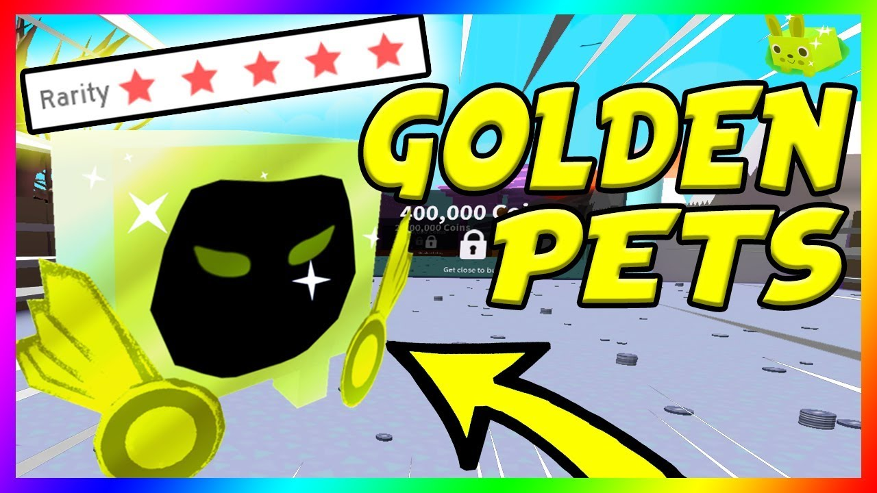 *GOLDEN DOMINUS* HOW TO GET GOLDEN PETS IN PET SIMULATOR ...