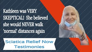 Skeptical that ANYTHING Could HELP Help like Kathleen? |  Sciatica Relief Now | Online Sciatica Help