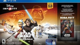 DISNEY INFINITY 3.0 AUGUST 30 RELEASE DATE and STAR WARS SAGA STARTER KIT PS4