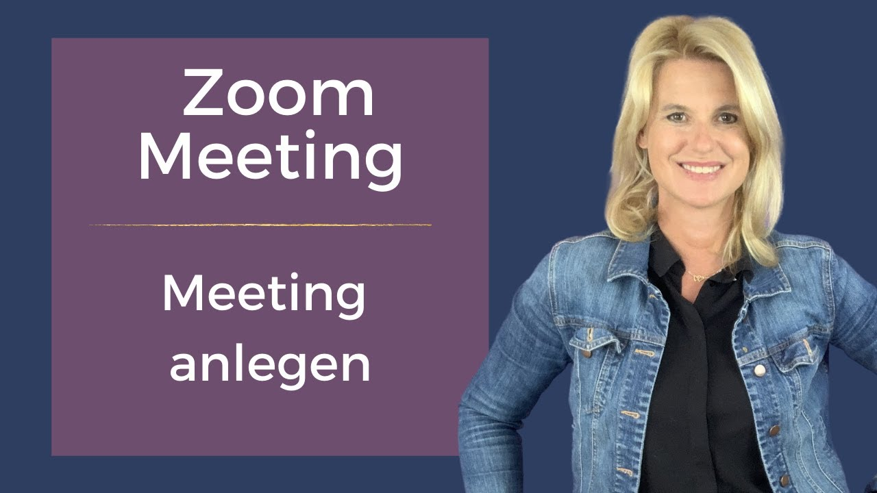 Zoom Meeting Deutsch