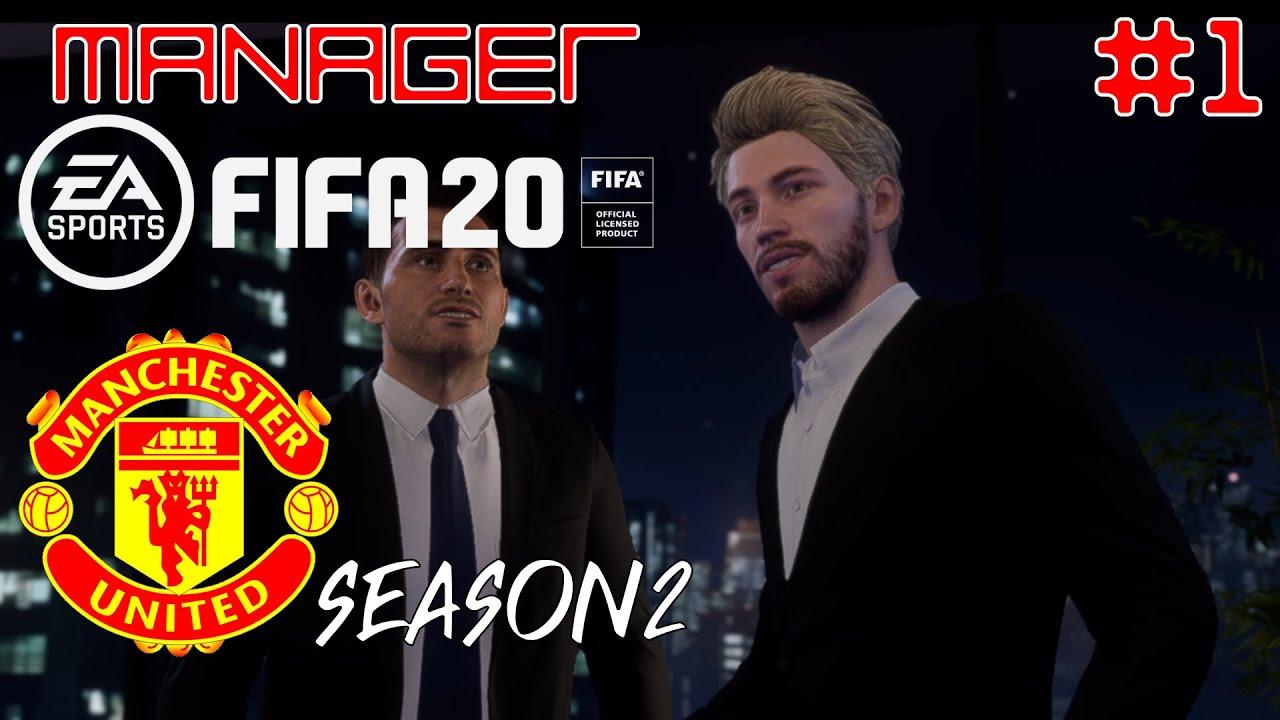 FIFA20 Manager Mode Season2 [EP1] – แมนยูทุ่มงบไม่อั้นเพื่อนักเตะระดับโลก
