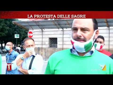 La protesta delle sagre