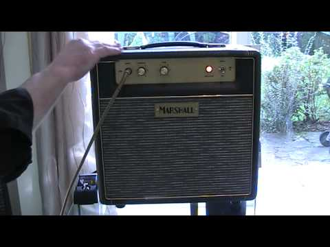 A Review of the Marshall JTM 1c M11 50th Anniversary Combo