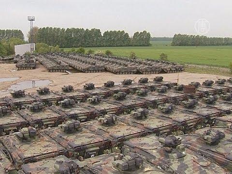 В Германии утилизируют боевые танки (новости)