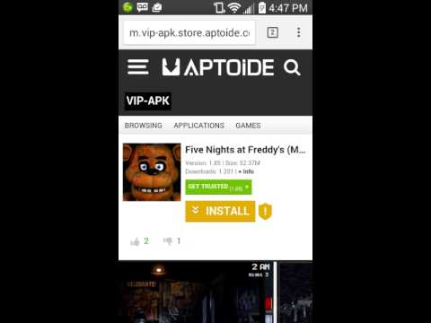 download fnaf 1 mod aptoide