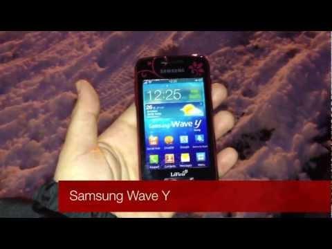 Samsung Wave Y LaFleur-Edition (Deutsch)