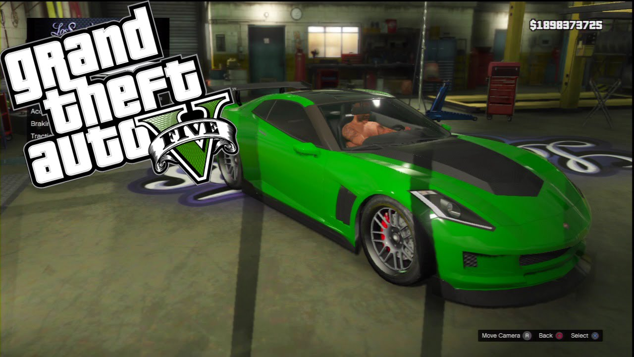 Gta V Custom Car Build Ps3 Transformers Aoe
