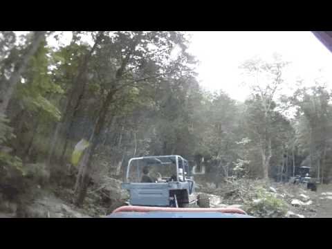 Following J-rod at Hale Mountain ORV