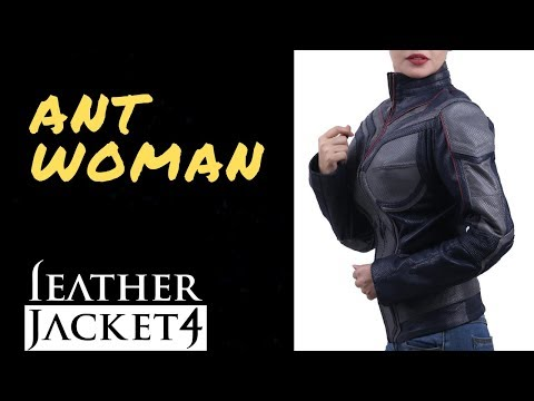 LeatherJacket4 Ant Woman And The Wasp Hope Van Dyne Evangeline Lilly Jacket