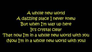 ZAYN, Zhavia Ward - A Whole New World (Aladdin) [Lyrics On Screen]