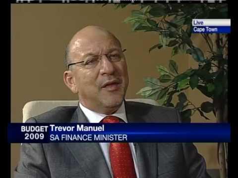 Finance Minister Trevor Manuel - Budget 2009