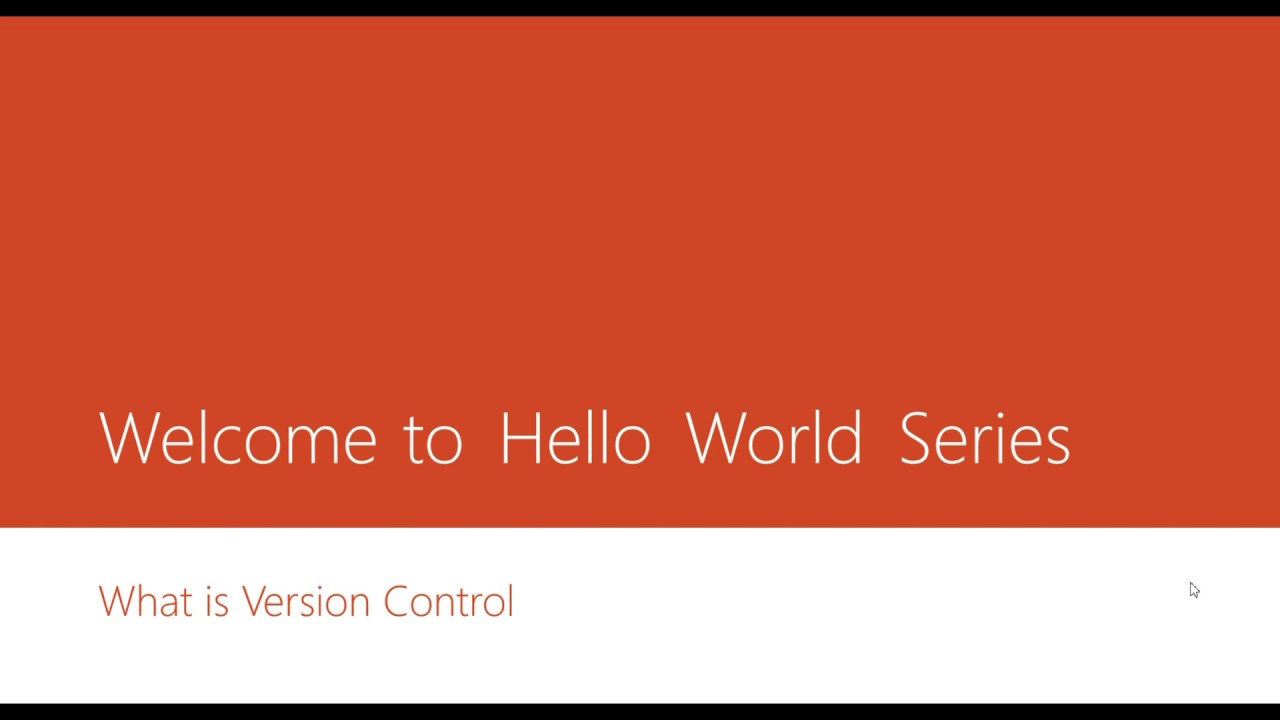 An effort to learn and share series of HelloWorld programs