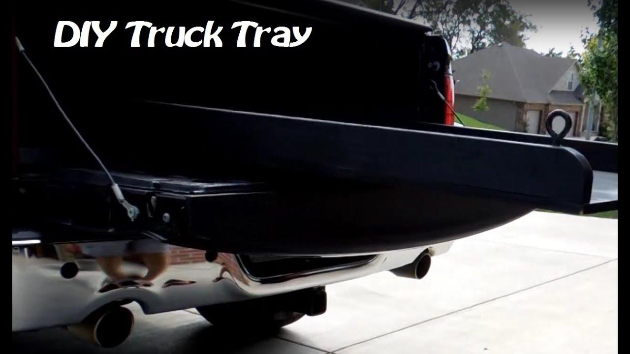 Sliding Truck Tray Diy Youtube