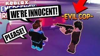 CORRUPT COPS versucht, mich & mein Trupp zu ARREST! (Notfallreaktion Roblox)