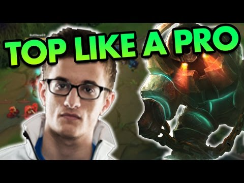 PLAY TOP LIKE AN LCS PLAYER! FULL TANK NAUTILUS IS BUSTED - League of Legends Commentary