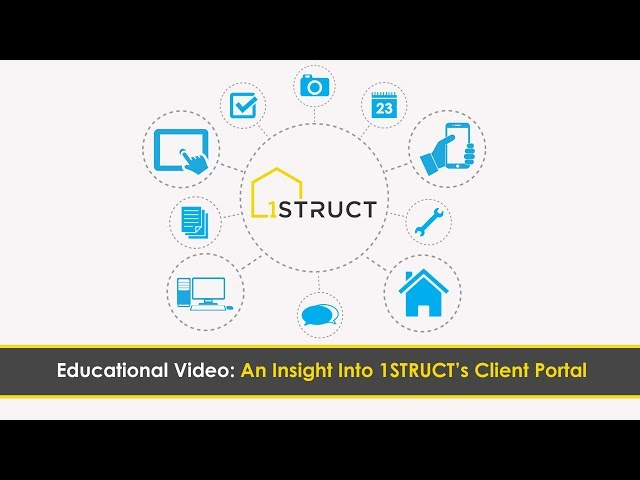 An Insight Into 1STRUCT's Client Portal