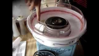 Nostalgia Electrics Cotton Candy Machine Tutorial & Review.