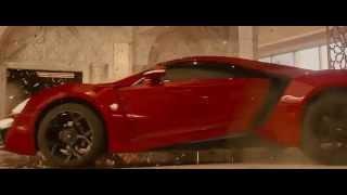 Fast 7 amazing car scene