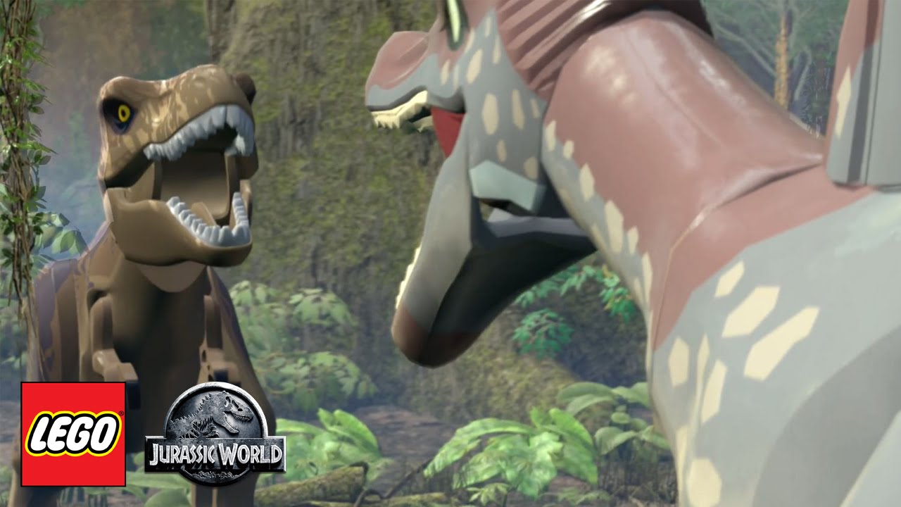 lego jurassic world the spinosaurus part 12 jurassic