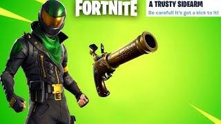 Fortnite New Flint-Knock Pistol Update Countdown + Gameplay! (Fortnite New Update)