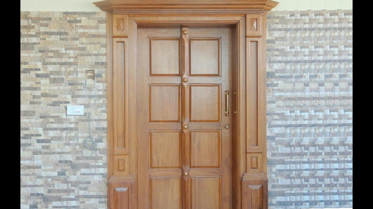 Kerala House Design ( Front door ) - YouTube