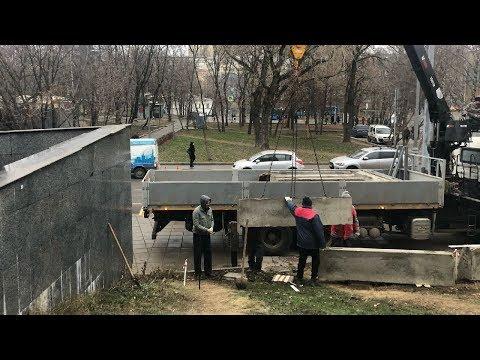 Киноцентр Соловей в Москве продолжают обносить забором / LIVE 29.11.19