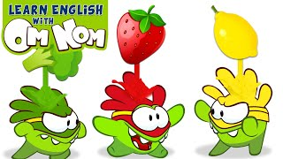 Colorful Superheroes for Kids | Learn Colors with Healthy Food + More Nursery Rhymes by Om Nom