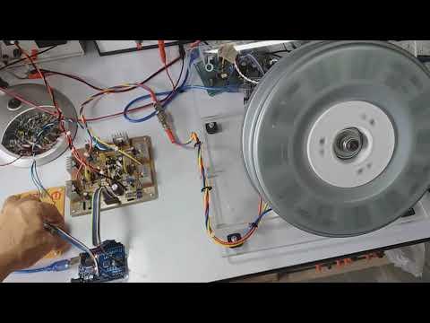Speed Control BLDC Motor From Washing Machine.