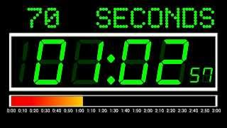 3 Minutes Countdown (Digital Version , Remix BBC Countdown , 50FPS)