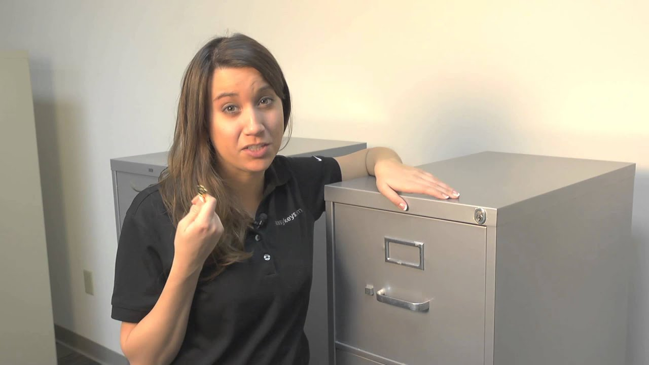 Anderson Hickey File Cabinet, Desk & Cubicle Keys & Locks - YouTube