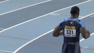 still fast! Justin Gatlin ジャスティン ガトリン 2012 60m Heat