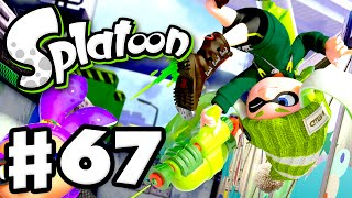 Splatoon - Gameplay Walkthrough Part 67 - Turf Wars with Yasha! (Nintendo Wii U)