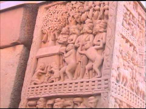 Sanchi Buddhist Monuments Great Rock Art World Heritage with Guide by Shirishkumar Part 1.mpg