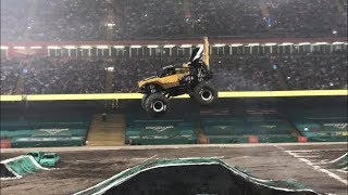 Earth Shaker Freestyle - Monster Jam Cardiff - 19th May 2018.