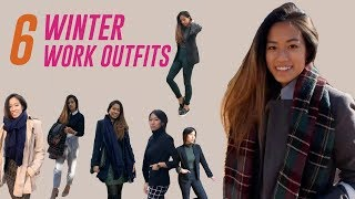 WINTER WORK OUTFITS 2018 || Corporate Office Lookbook